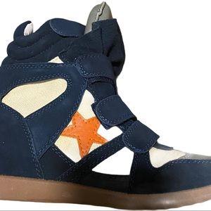 Isabel Marant Bekket/ Bayley Star Wedge Sneaker 41